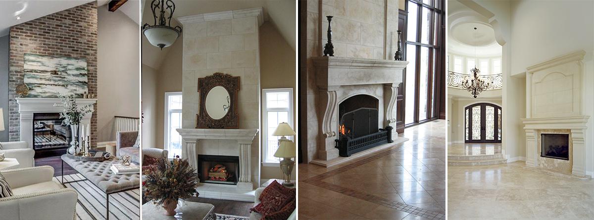 Da Vinci Fireplace Mantels